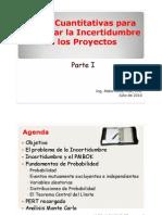 3 Tecnicas y Herramientas Cuantitativas para la Gestion de la Incertidumbre en los Proyectos