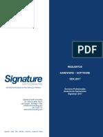Requisitos de Hardware y Software EDX2
