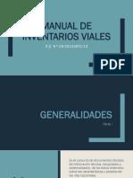 Manual de Inventario Manual-Infraestructura de Transportes II