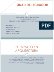 TEORIA DE LA ARQUITECTURA Y URBANISMO II
