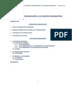 T 6 (+funciones)EL PROCESO DE COMUNICACIÓN. LA SITUACIÓN COMUNICATIVA