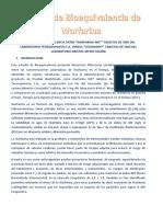 Bioequivalencia Warfarina