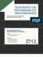 Modelos de Programa de Necesidades