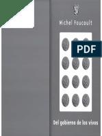 Foucault, Michel - Del Gobierno de Los Vivos Completo