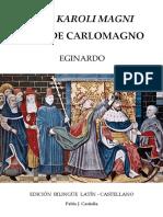 Eginardo - Vida de Carlomagno Vita Karoli