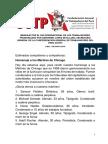 MENSAJE POR EL DIA INTERNACIONAL DE LOS TRABAJADORES PRONUNCIADO POR GERONIMO LOPEZ SEVILLANO, SECRETARIO GENERAL DE LA CONFEDERACION GENERAL DE TRABAJADORES DEL PERU (CGTP)  LIMA, 1 DE MAYO 2018