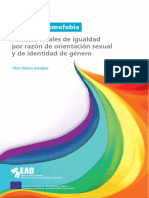 Libro Blanco Europeo Contra La Homofobia