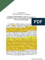 C. Levy -Pyrrhon, Énésidème Et Sextus Empiricus. La Question de La Légitimation Historique Dans Le Scepticisme
