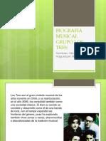 Biografia Musical Grupo Los Tres
