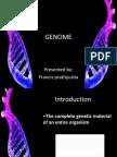 Genome Ppt