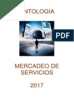 Antologia Mercadeo de Servicios