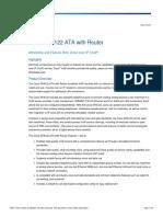 Cisco SPA122 ATA Router