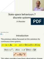 State Space Behaviours 7 - Discrete Systems