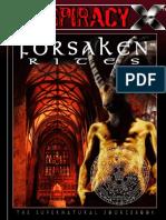 Conspiracy X - Forsaken Rites