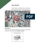 Analisis Arquitectonico Condominio Ingenieria