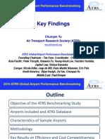Key Findings of 2015 ATRS Benchmarking