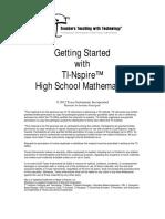 GS HS Math 2012 Participant