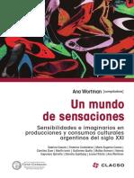 Wortman, Ana (comp.) Un Mundo de Sensaciones