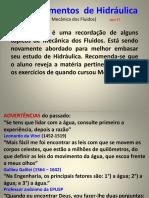 01 FUNDAMENTOS DE HIDRÁULICA 2017 2.pptx