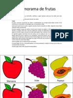 Memorama de Frutas 0