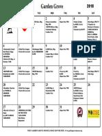 Calendar MAY 2018 PDF