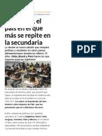 Argentina, el país en el que más se repite en la secundaria - Infobae.pdf