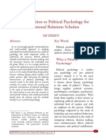An Introduction to Political Psychology forInternational Relations Scholars.pdf