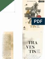 Livro Travestis, Carne, Tinta e Papel
