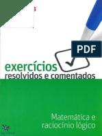 Exercicios Resolvidos e Comentados Matematica e Raciocinio Logico