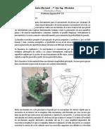Mecánica Racional - PSRE 23- 2017-Mecanismo de La Limadora