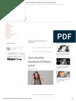 Cómo divertirte estudiando_ El Método Leitner - PSU Cuenta Regresiva.pdf