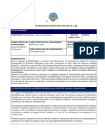 Programa Analítico de Probabilidades y Procesos Estocásticos