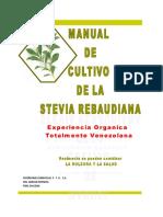 Manual de Stevia