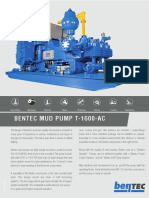 Bentec Mud Pump T-1600-Ac_130209
