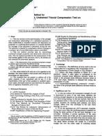 ASTM D2850 - COMPRESIÓN TRIAXIAL EN SUELO COHESIVOS.pdf