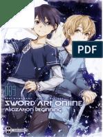 Sword Art Online 9. Alicization Beginning (Underworld)