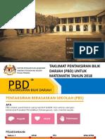 Taklimat Pbd Untuk Math 2018 Ppd 27.02.2018