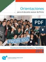 Orientaciones Asesor de Feria CGE 2018