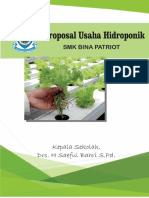 Proposal Usaha Hidroponik