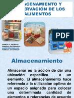 Almacenamiento y Conservación de Los Alimentos