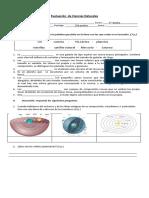 Evaluación Cs Naturales Sistema Solar Séptimo
