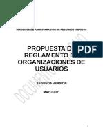 Avance de La 2da Propuesta Del ROUs Al 14-06-2011