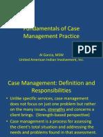 Summary Slides of Case Management
