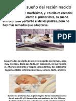 Actividad y Sueño Del Recién Nacido