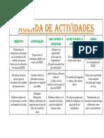 Agenda de Actividades Sociales
