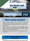 Marine Perils and P&I Slide