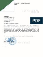Inicitiva de Ley Contra El Lavado de Activos...