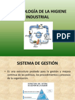 Metodología de la Higiene Industrial