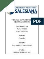 Centrales Hidroelectricas Torres Siguenza