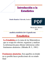 Introduccion a La Estadistica 2 2018